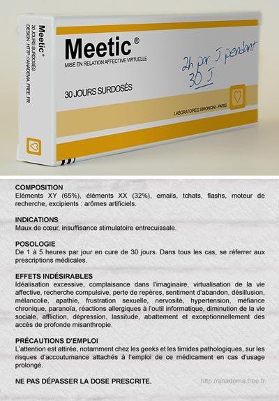 Une prescription meetic - non remboursée